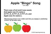 Singing, songs, teaching
