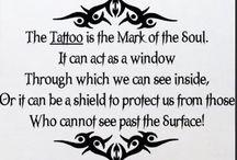 Ink, skin, poetry