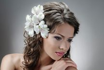 Wedding Hairstyle:  Hair Down