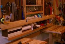 Wood-work Benches