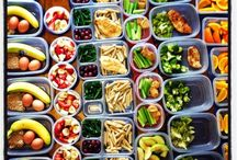Meal Prep Ideas / Because I have no idea where to start. A collection of meal prep ideas that I can batch cook, freeze, or doesn't take too much effort or time to whip up.