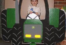 cumpleaños tractor