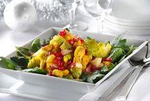 Recept med mera / En anslagstavla där vi presenterar bra vegetariska recept på god och nyttig mat samt andra tips om kost och hälsa.