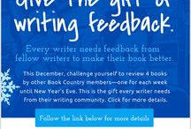 #GiftofWritingFeedback / Give the Gift of Feedback! Pledge to review four books on Book Country this month, and give your writing community the feedback they need to make their books better in the new year. http://bit.ly/GiftofWritingFeedback #BookCountry #GiftofWritingFeedback
