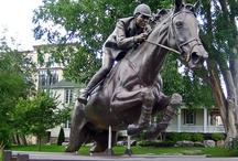 Horse Statues Around the World