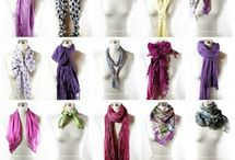 40 Ways of wearing a scarf