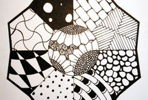 My zentangle art