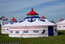 yurts, trailers
