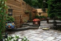 Garden backyards