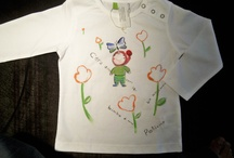Scriccioli Kids / T-shirt fiabesche dipinte a mano