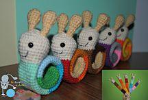 Zakładki do książek (crochet bookmarks)