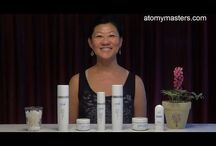 Atomy Skin Care Demo / Here we will show you how to use Atomy skin care products
