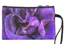 Wearable Art Handbags / A unique collection of designer handbags featuring the art of Carol Cavalaris.