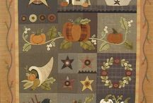 Quilt - Primitive - Wool / by Suzanne Leonhart
