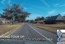 Driving Tours of Greater Baton Rouge Subdivisions / by Bill Cobb