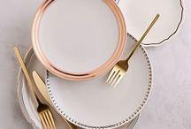 Tableware, Pop up dinner party / Tableware ideas for your pop up dinner party.