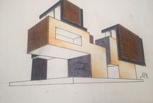 My architecture sketches