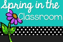 Spring in the Classroom / Ideas for the spring months. *Easter *Spring and more / by Michelle Lanning