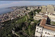 Volo con Drone su Napoli  / - NAPOLI  18  FEB    2014 -  Castel Sant'Elmo e la Certosa di San Martino.© R.Siano.