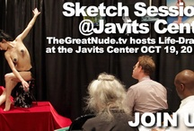 Sketch Sessions at the Jacob Javits Center, 2012