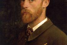 arte - George Clausen (1852-1944) / arte - pittore inglese