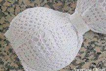 Crocheting Bra,s