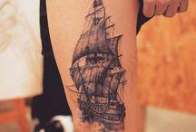 ταττουαζ με πλοια