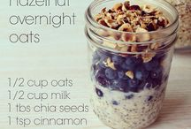 Overnight oats ideas