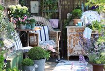 Gardening, Patios, and Backyards / by Cecilia Ralson