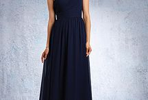 Bridesmaid Dress's / Stunning bridesmaid gowns by different designers. Available at A-Z Wedding Services, Stourport-On-Severn.
