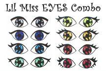 dolls eyes