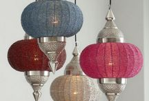 Lamps in the Indian style