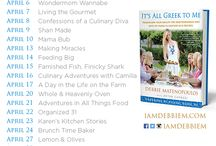 It's All Greek to Me Anniversary Blog Tour / Celebrating the One Year Publication Anniversary of Debbie Matenopoulos' It's All Greek to Me