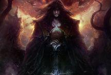Badass fantasy / vampire, mage