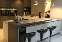 Our Kitchen Projects / Finalised Kitchen projects created from our in house designers.