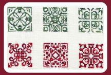 Beading:  Biscornu and quaker / Biscorno patterns / by Stephie Mae