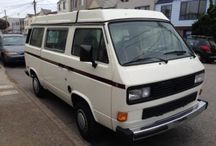 May 2014 VW Vanagon Westfalias For Sale / This is an album of VW Vanagon Westfalias I've found for sale during the month of May, 2014. There are links to the story behind these vans in each pin.