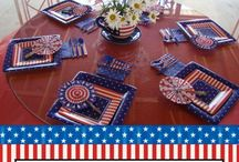 4th of July Party Printables / 4th of July Party Printables - Patriotic Printable place mats, juice boxes, buffet printables, banners, and more...  by COUNTRY GRAPHICS™