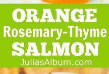 salmon recipe's