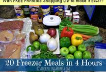 Freezer Meals and Instant Meals