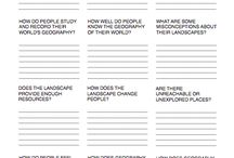 Worksheets geography