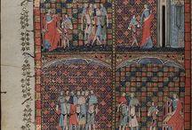 MS - Romance of Alexander [1338-44] / MS Bodl. 264, a mid-fourteenth-century edition of the Romance of Alexander.