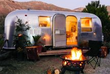 My Airstream Dream / Ideas for my Operation Airstream Renovation // Camper trailer ideas from all walks of life