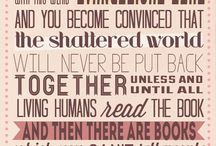 Words We Love / What people say about books, libraries and other wonderful things :) / by Lisle Library
