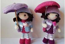Muñecas amigurumi