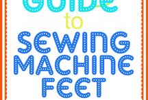 Sewing machine tools / feet instructions