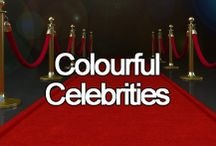 Colourful Celebrities / Celebrating all the gorgeous, colourful outfits worn by our favourite celebrities!