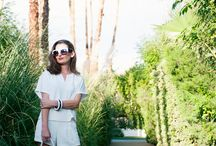 What to Wear: Palm Springs Edition / Hey, you wear whatever the heck you want to wear! These are just a few trendy examples for your wardrobe inspo.