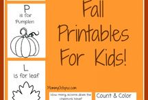 FREE Fall Resources for Special Needs Homeschoolers!