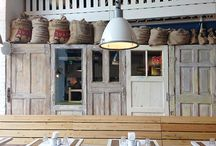 Babetta Cafe / Branding and interior Babetta Cafe.